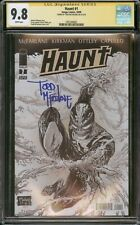 HAUNT 1 CGC SS 9.8 SIGNED TODD MCFARLANE SPIDER-MAN SPAWN MOVIE COMING SOON?