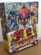 BANDAI Power Rangers Lupinranger VS Patoranger DX LUPIN KAISER set Megazord