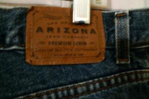 Arizona Jeans A Sigaretta 19 Stretch Denim Patten 38 l30 strass pietre Mauve ELEGANTE NUOVO