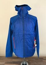 North Face MENS SM/MED Vaporous Athletic Workout Jacket - Blue - NWT