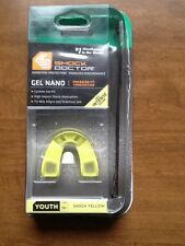 Opened package Shock Doctor mouthguard youth age 10 shock yellow gel nano 6471Y