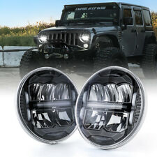 "Xprite 7"" 60W Led Head Lights High/Low Beam w/ Drl For 97-18 Jeep Wrangler Tj Jk"