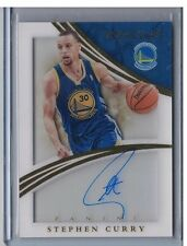 14-15 Immaculate Stephen Curry Acetate Auto Autograph Warriors #ed 46/49 SP