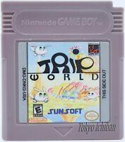 Jeu Nintendo Game Boy Trip World / Reproduction