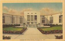 Postcard La Shreveport Louisiana State Exhibit Building Linen Unused NrMnt 1940s