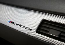 2x BMW M Performance Aufkleber decal E46 E90 E60 F30 F20 M3...