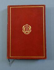 Walter von Molo  Der Mensch und das  Werk  Max  Koch Verlag  1923 Vorzugsausgabe
