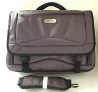 KENNETH COLE Briefcase Gray Nylon Laptop Sleeve Computer Bag Case NEW NWT