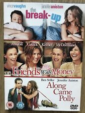 Friends With Money/The Break-Up/Along Came Polly 3x DVD Set Jennifer Aniston