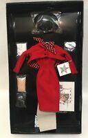 GENE Doll Outfit SMART SET MIB Set MEL ODOM Ashton Drake Red Suit Accessories