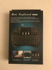 Rii I8 Mini Wireless Backlit Keyboard Touchpad Remote for KODI Android TV Box.