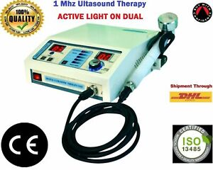 PORTABLE 1 MHz ULTRASOUND ULTRASONIC MUSCLE PAIN RELIEF MASSAGER THERAPY MACHINE