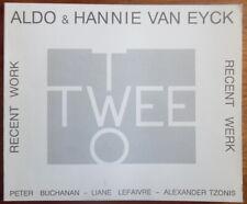 Aldo % Hannie van Eyck - Recent work - Peter Buchanan - Beurs van Berlage - 1989