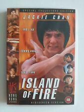 JACKIE CHAN ISLAND OF FIRE HONK KONG LEGENDS DVD