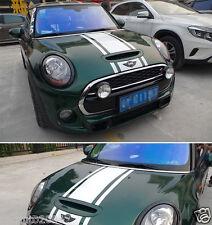 Car Racing Rally Stripe 15'' for MINI Cooper Vinyl Motor Hood Rear Decal ZC1147