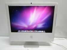 "Apple iMac 20"" A1207 EMC2118 MA589LL Core 2 Duo 2.33GHz, 2GB RAM, 500GB HD, 10.6"