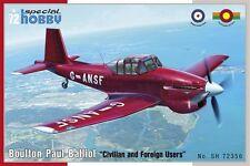 "SPECIAL HOBBY SH72356 1/72 Boulton-Paul Balliol ""Civilian and Foreign Users"""