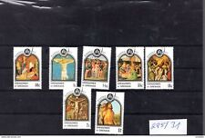 225 - 31 postfrisch Grenada Grenadies Ostermarken