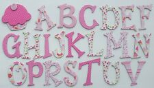 {163 Pc.}  ~SWEET CAKES~  Embellishment Chipboard Alphabet Letter & Die Cuts