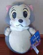 Super CuTe Disney Plush CAT FiGaRo Pinocchio Sega Round Bottom 7.5 ""