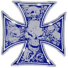 Aufkleber Iron Cross - IC - Eisernes Kreuz - Totenkopf - Skull - Old Shool (63)