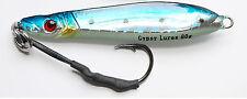 gypsy lures saltwater butterfly flutter jig 80g 3 oz blue sardine jigging lure