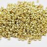 11/0 Toho Round Glass Seed Beads Metallic Galvanized Permanent Finish 10g
