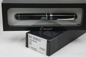 NEW! Pilot Custom 912 Black Rhodium 14k 585 10 MS Music Nib Fountain Pen Japan