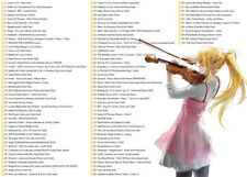 Violin Sheet Music Collection of Popular Music (+1000 works) Beginner-Advanced