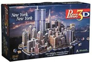 Puzz 3D New York New York 3141 Pieces - Sealed & New (Rare / Discontinued)