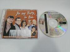 YO SOY BETTY LA FEA BANDA SONORA ORIGINAL SERIE TV CD 14 CANCIONES 2001 SONY