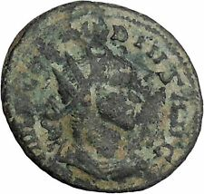 Claudius II Gothicus 268AD Ancient Roman Coin Ares Mars War God Cult   i46810