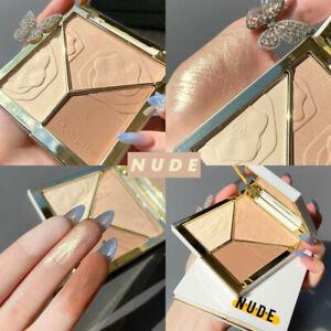 Contour Powder Kit Contour & Bronze & Highlight Palette Contouring
