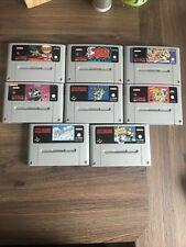 Super Nintendo Entertainment System, 8 Spiele Wie SuperMario, Streetfighter Usw.