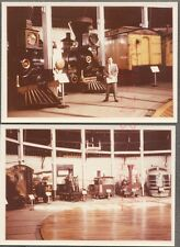 Vintage Photos Man in Railroad Train Museum 754863