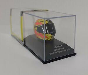 MINICHAMPS 1:8 valentino rossi Model Helmet Moto Gp Test Sepang 2018 Die Cast