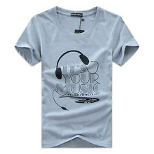 Fashion Summer Men Short Sleeve T-Shirt 3D Anime Street Hip Hop T-shirts XXL@36