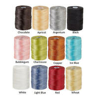 0.5mm C-Lon nylon 3 ply twisted thread, macrame C-Lon 0.5mm cord.