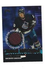 Darren Langdon, 2003-04 Topps Tough Materials Jersey card, # TM-DL, Vancouver