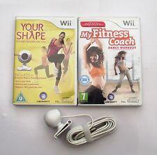 La sua forma e la fotocamera e il MIO COACH DI FITNESS DANZA Allenamento Wii PAL