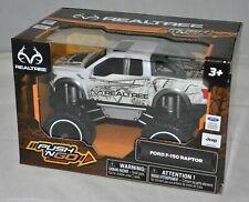 "NKOK RealTree Push N Go White Camo Ford F150 Raptor Toy Monster Truck 6"" NEW"