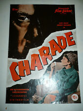 CHARADE, 8 pg German Film program [Audrey Hepburn, Cary Grant, Walter Matthau]
