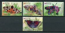 Belarus 2016 MNH Butterflies 4v Set Butterfly Insects Stamps