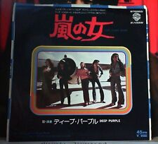 Deep Purple Japan Import 45 Lady Double Dealer Warner Brother p-143w