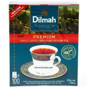 CEYLON SRI LANKA tea DILMHA Free Bags shipping Pure Tea Flavored flavored Black