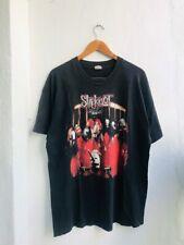 Vintage Slipknot Band 1999 Album Nu Metal Band T-Shirt Unisex Black Cotton Tee