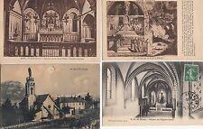Lot 4 cartes postales anciennes MYANS notre-dame 3