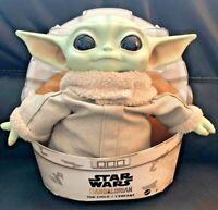 "💚 THE CHILD BABY YODA 10"" PLUSH 🐸 The Mandalorian Star Wars - Mattel New w/Tag"
