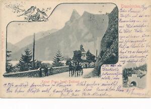 AK aus Traunkirchen Kaiser Franz Josef Denkmal OÖ (7)