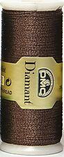 DMC DIAMANT THREAD NO. D898 BRONZE 35 METER SPOOL -  FREE UK POSTAGE AND PACKING